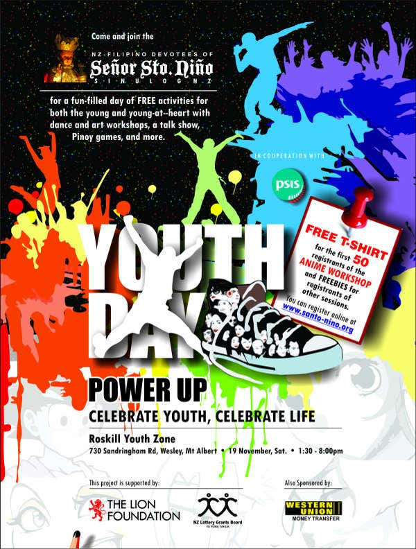 youth week event invitation