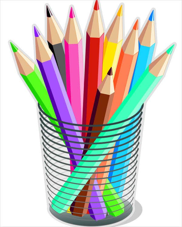 colorful-pencil-vector