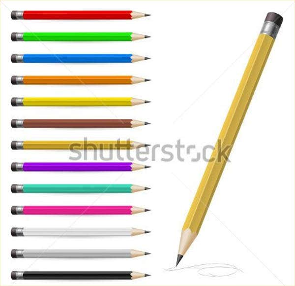 pencil-vector-art