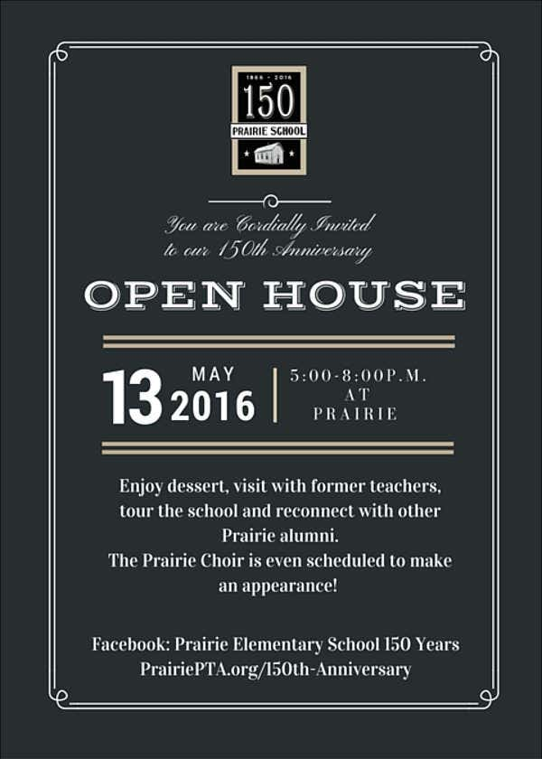 Open House Event Invitation Wording