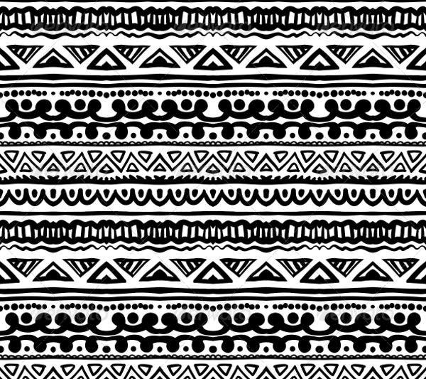 african striped pattern2