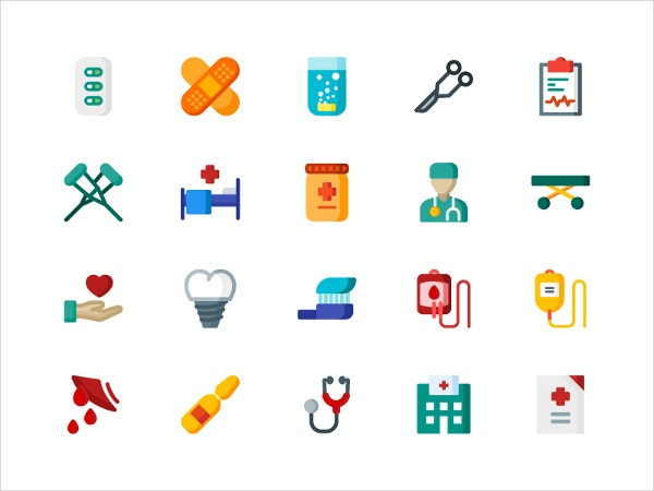 medical dental icons