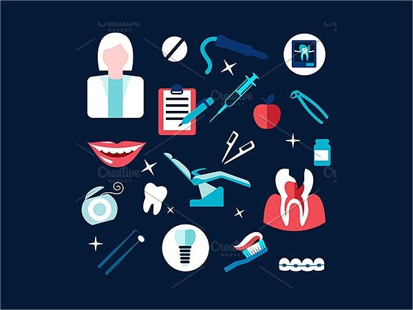 dental and health icons