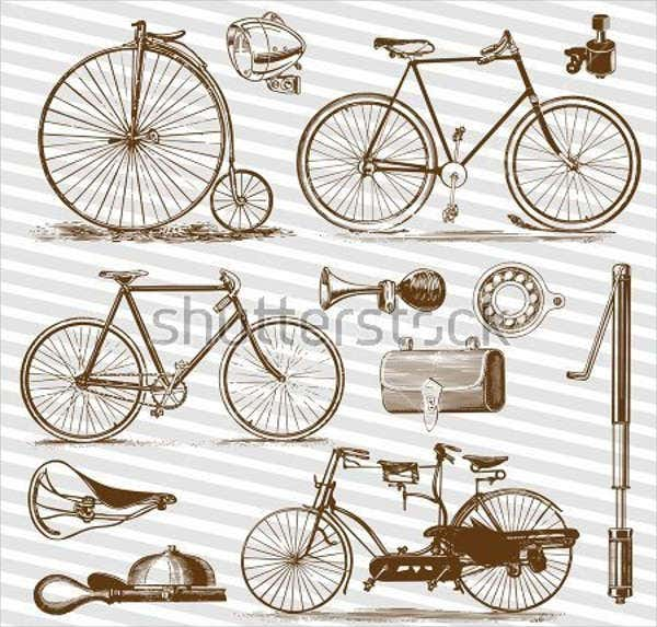 free-bicycle-vector-art