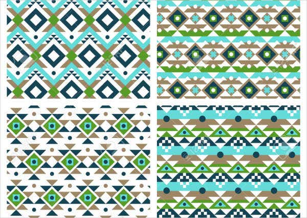 Mexican Ethnic Pattern Set