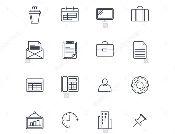 business-outline-icons