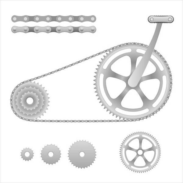 bicycle-gear-vector