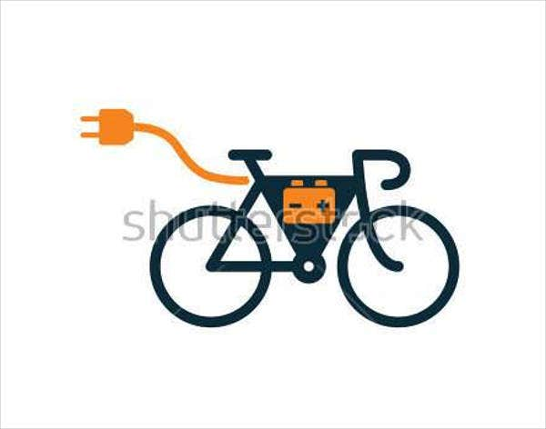 electric-bicycle-vector