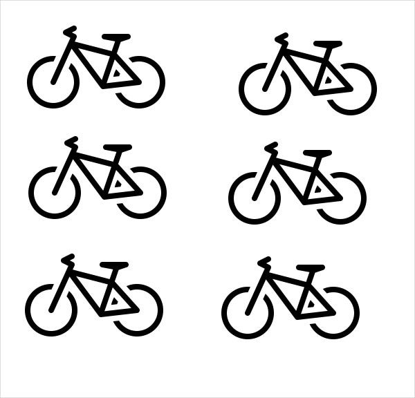 small-bicycle-icons