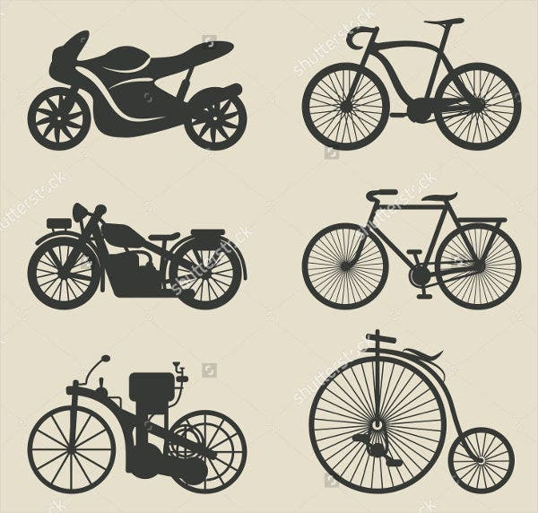 motor-bicycle-icons