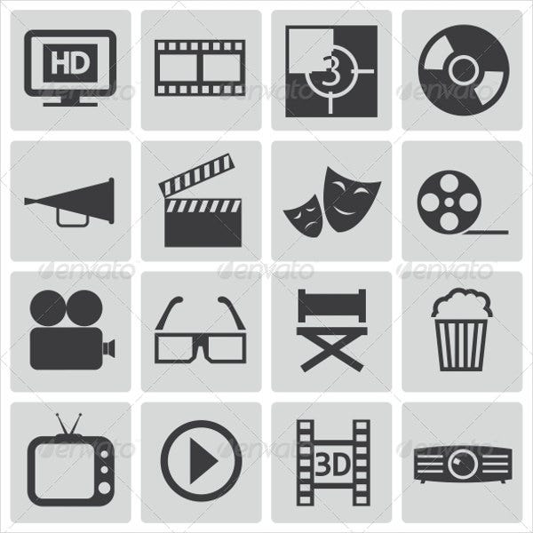vector-cinema-icons