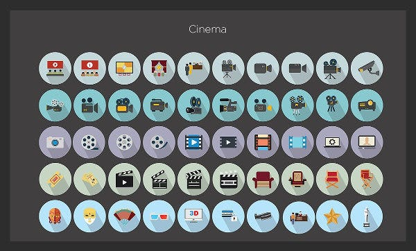 flat-cinema-icons