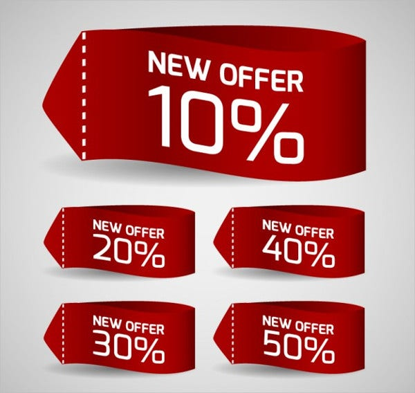 Discount Sales Vector