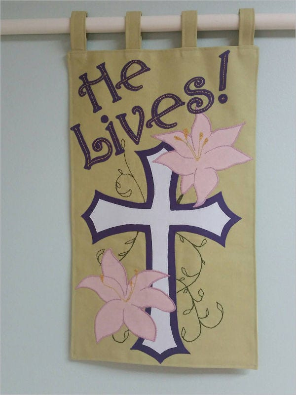 church-wall-banner