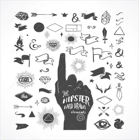 hand-drawn-hipster-icons