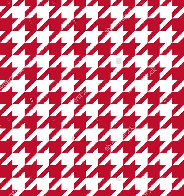 Abstract Houndstooth Pattern