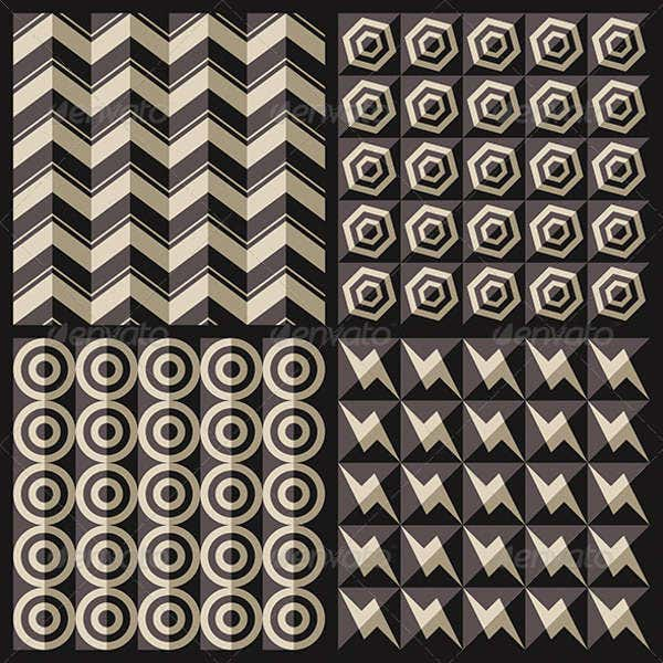 geometric houndstooth pattern