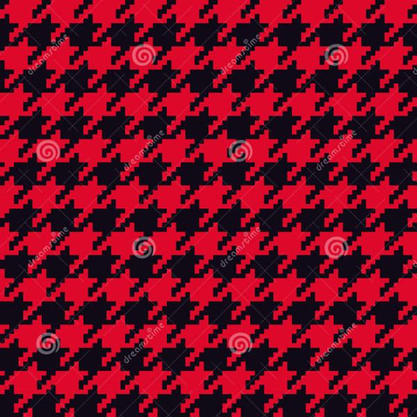 retro houndstooth pattern