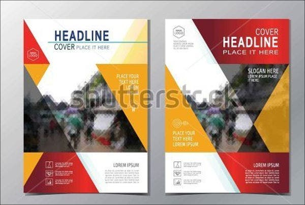 multipurpose catalog cover template