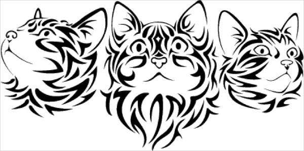 cat-face-vector