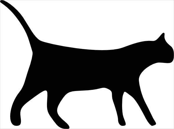 cat-outline-vector