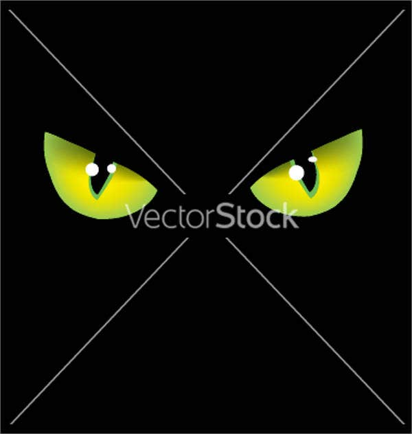 cat-eyes-vector