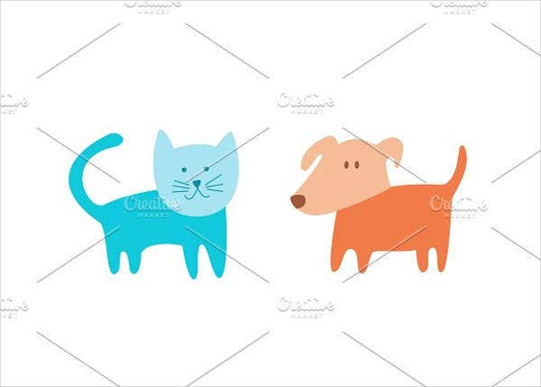 cat-and-dog-vector