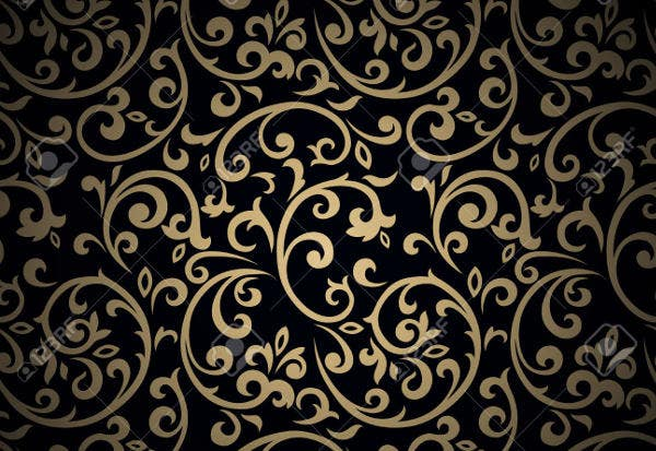 flourish-pattern-on-dark-background