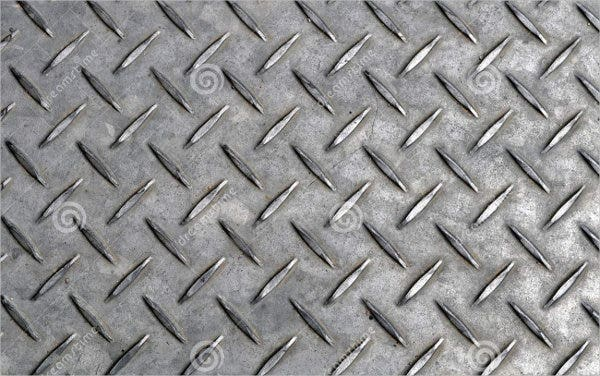 Steel Plate Texture for Photoshop