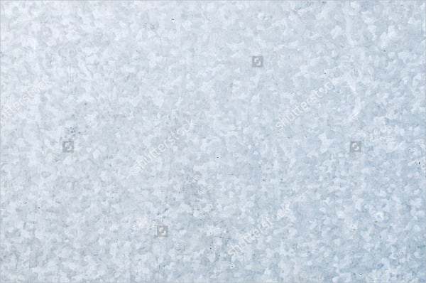 Galvanized Steel Plate Texture