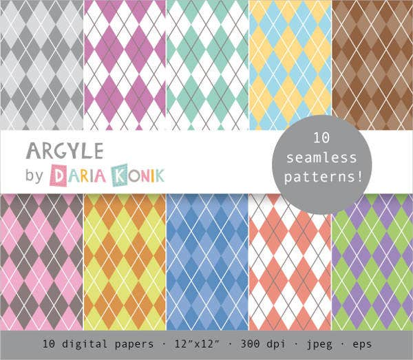 argyle-digital-paper-pack-pattern