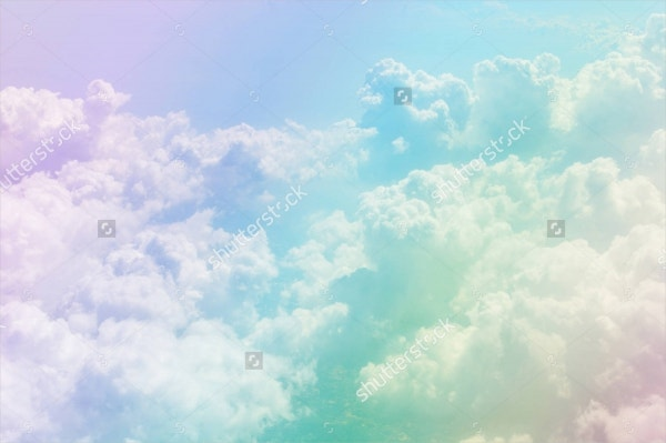 pastel cloud background texture