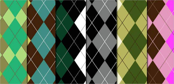 argyle-pattern-set