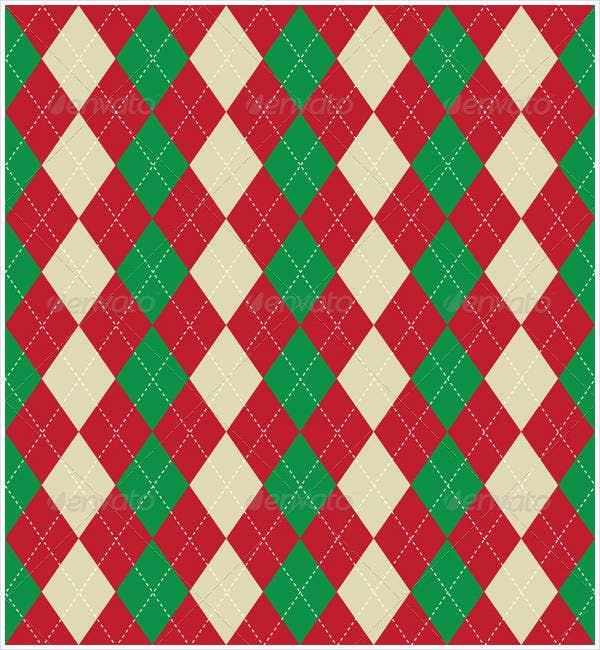 christmas-themed-argyle-pattern
