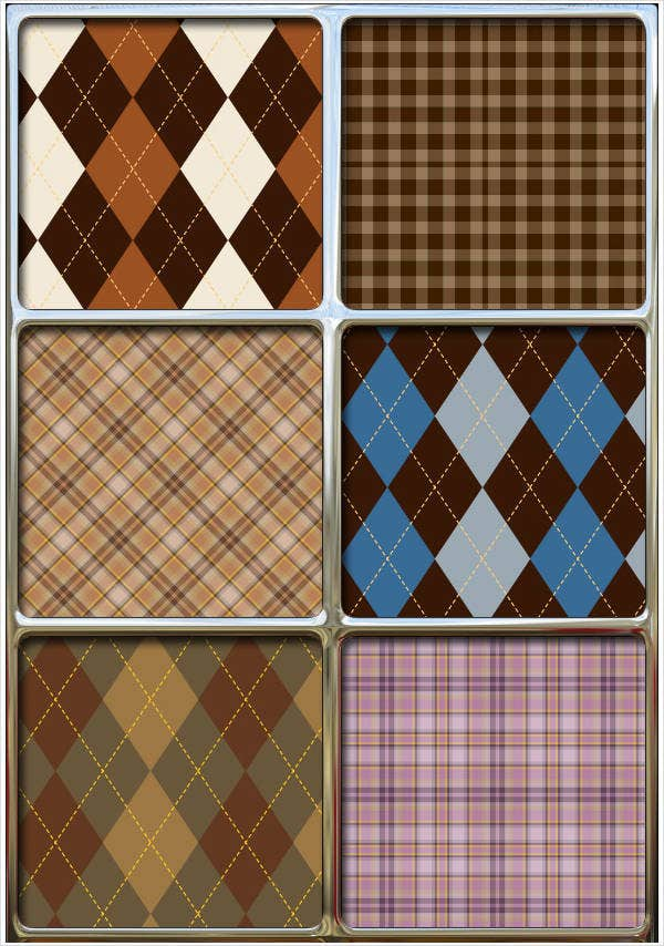 10  argyle patterns