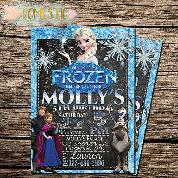 personalized-frozen-birthday-invitation