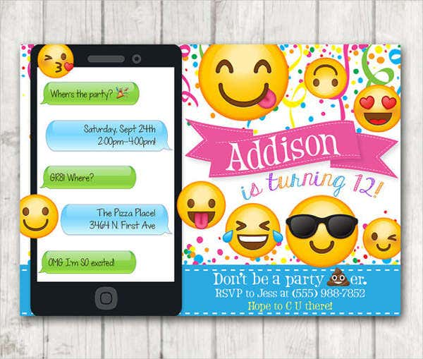 emoji-birthday-party-invitation