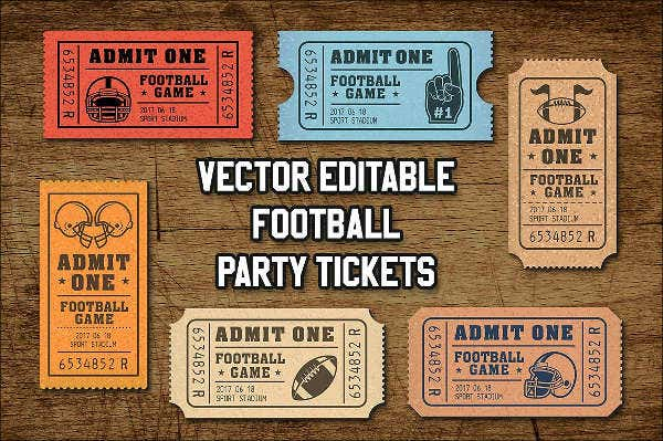 personalized football invitation