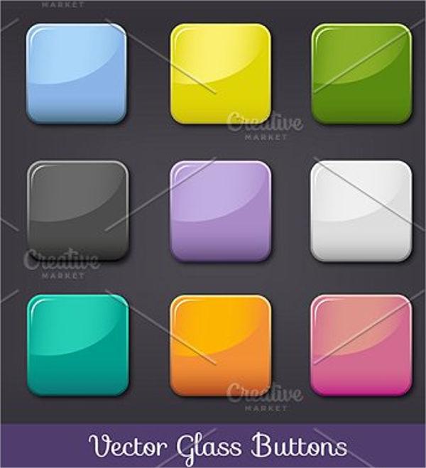 square button vector