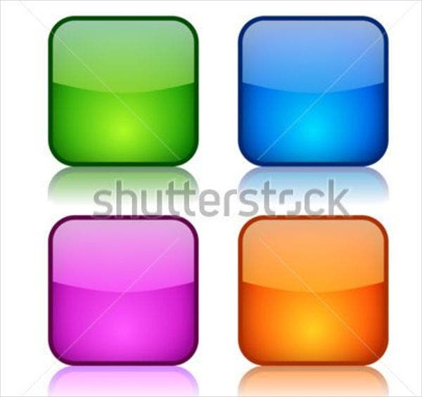 glossy-square-vector