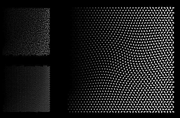 Square Halftone Vector
