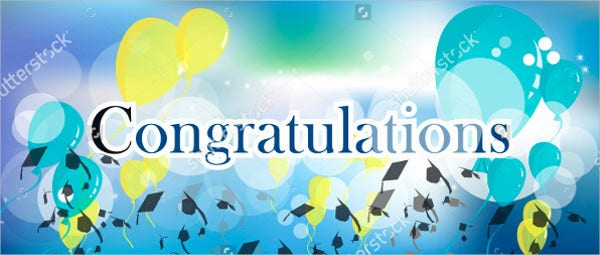 Congratulations Graduation Banner