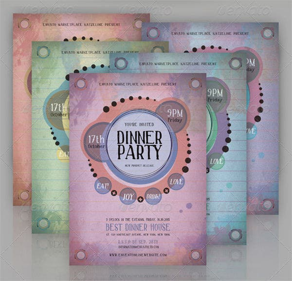 email dinner party invitation1