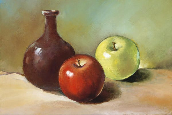 Still Life Fruits Painting