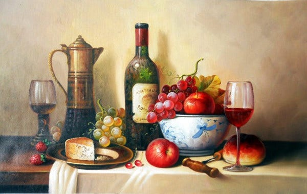 Realistic Still Life Painting
