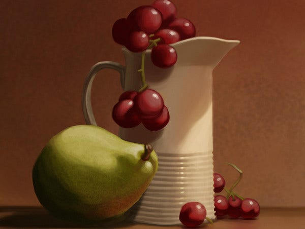 Diy Still Life Painting