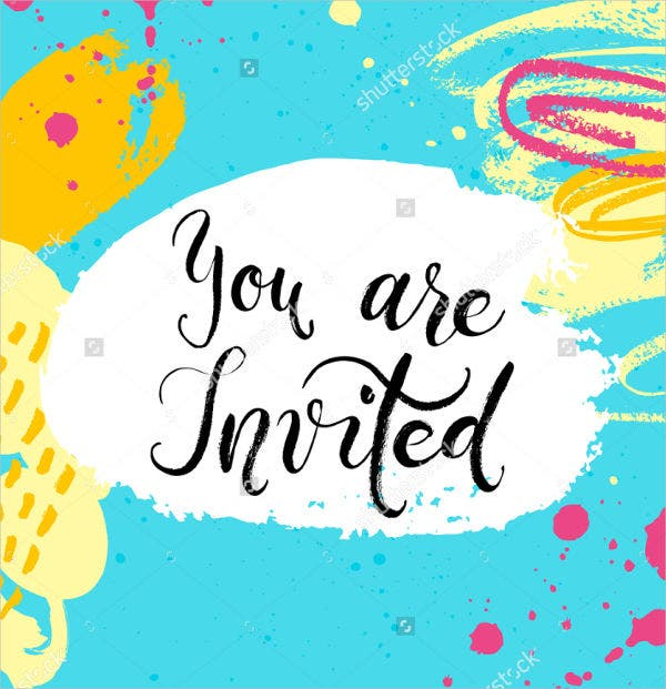 18  summer party invitations