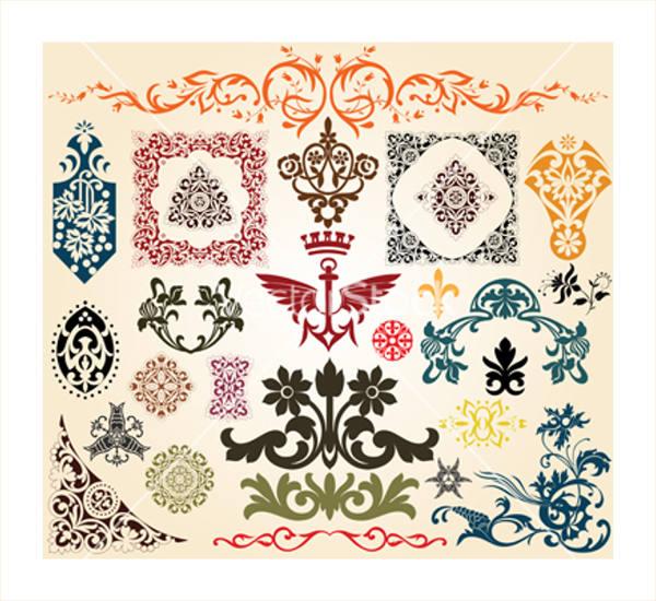 floral-heraldic-vector