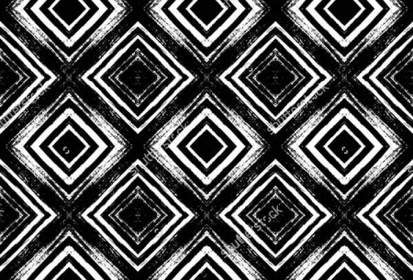 black-and-white-bohemian-pattern