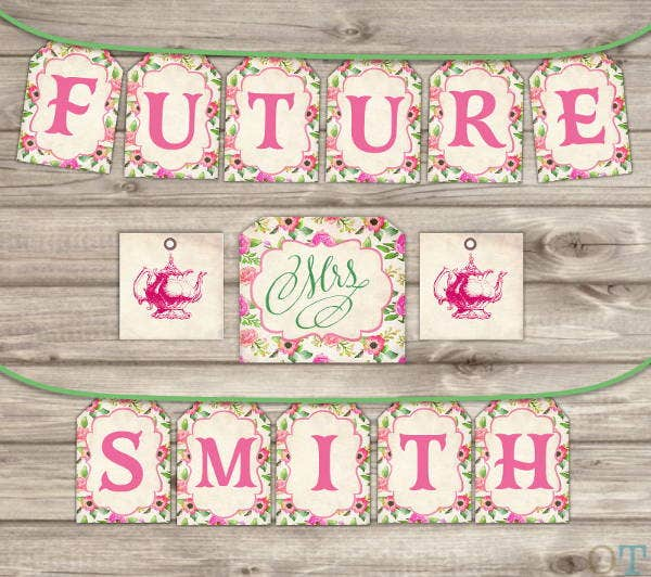 vintage-bridal-shower-banner